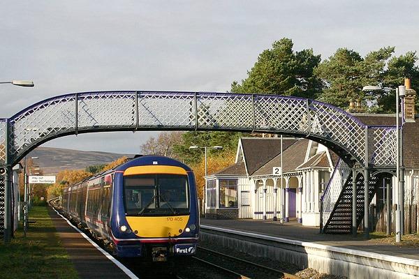 Carrbridge Station